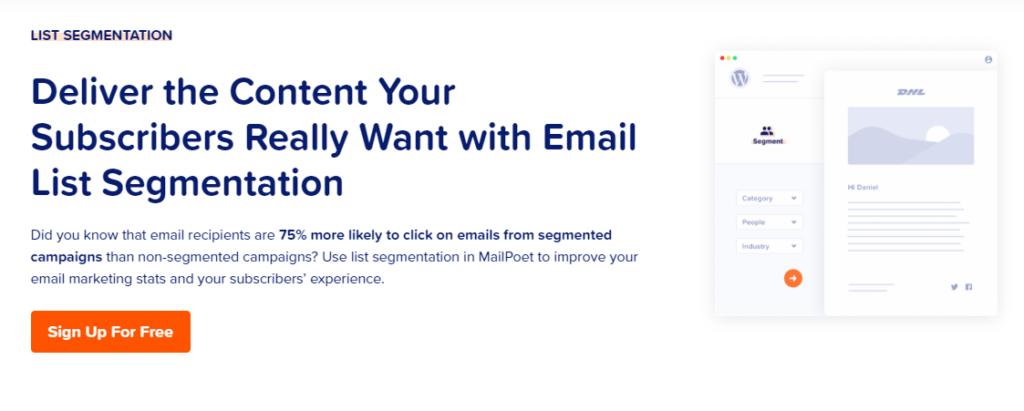 MailPoet-List-Segmentation
