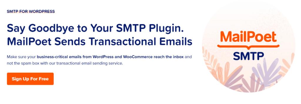 MailPoet SMTP for WordPress
