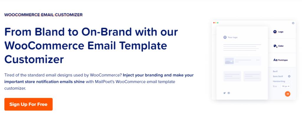 MailPoet-WooCommerce-email-customizer