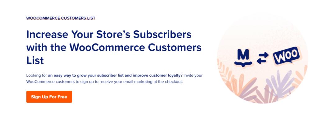 MailPoet-WooCommerce-list