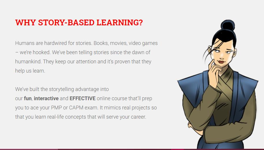 Story-based learning - Brain Sensei