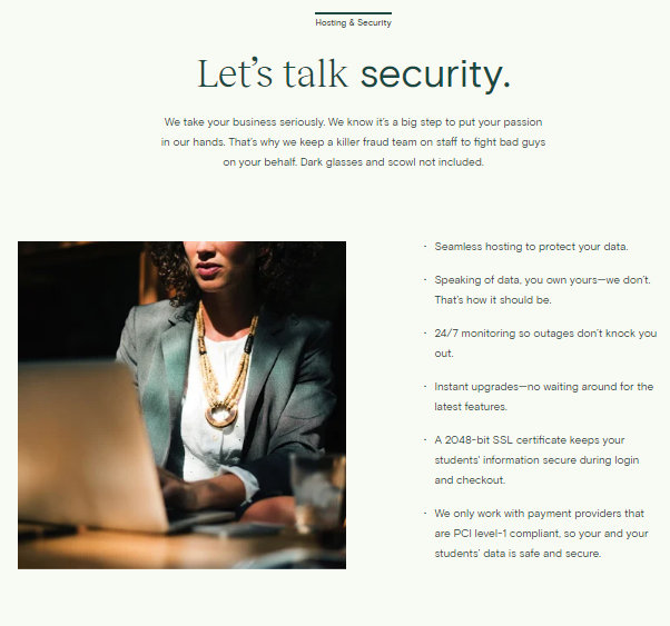 Hosting and Security
