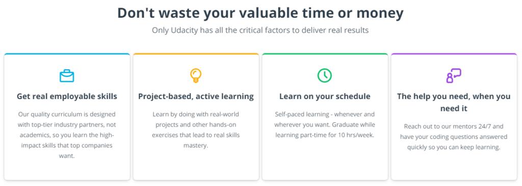 Udacity Critical Factors