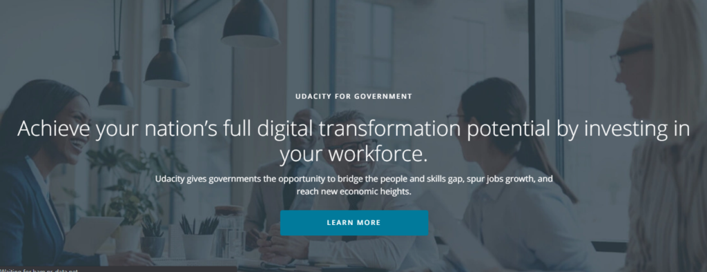 Udacity for Government