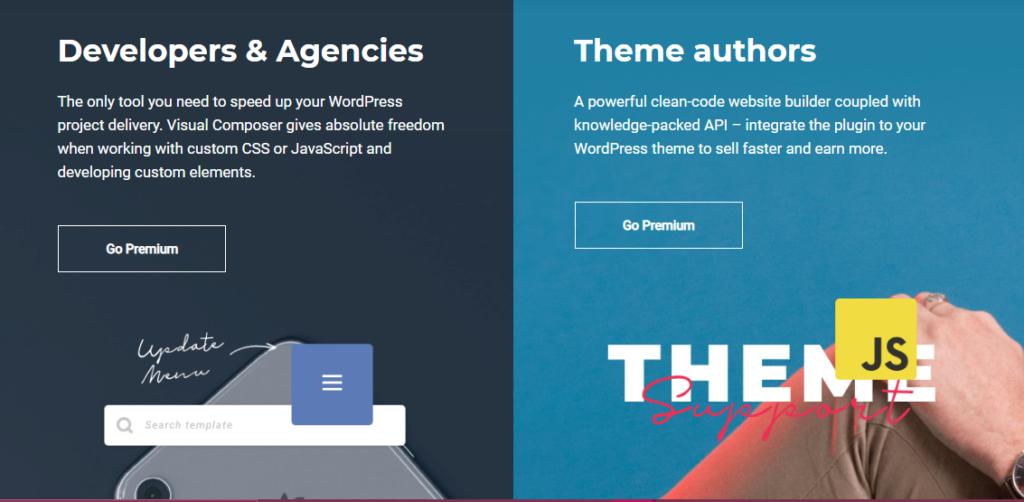 Developers, Agencies, Theme Authors