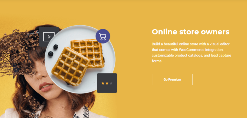 Visual Composer for Online store owners