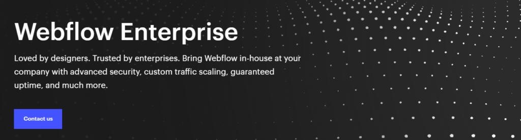 Webflow Enterprise