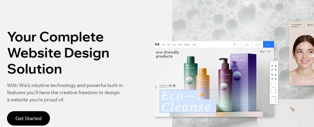 Website design - Wix