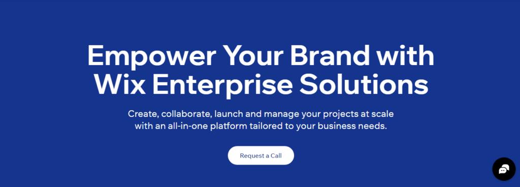 Wix for Enterprise