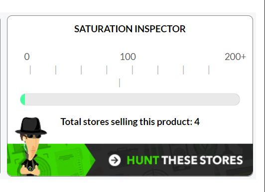 EcomHunt Saturation Inspector