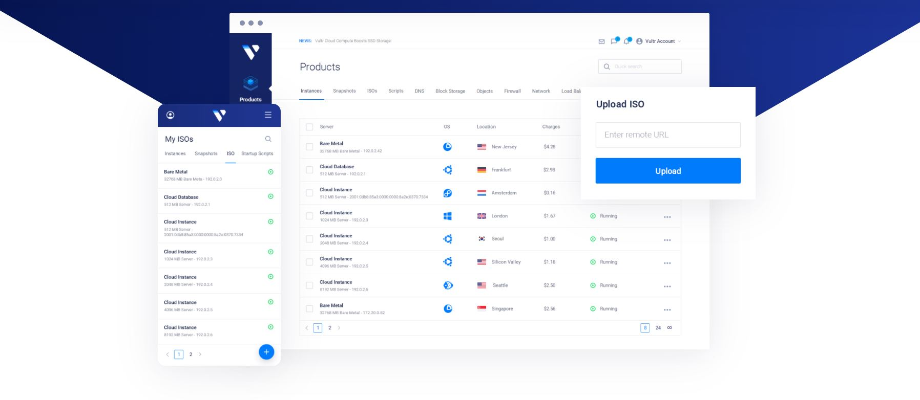 Vultr Products