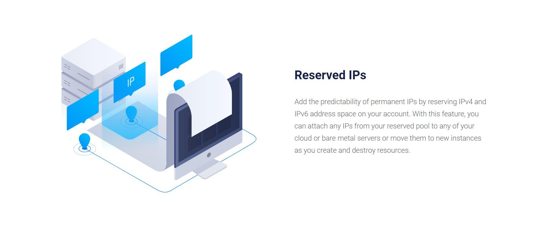Vultr Reserved IPs