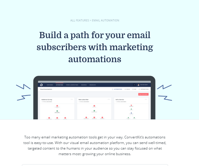Email Automations ConvertKit