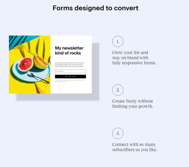 Flodesk Signup Forms