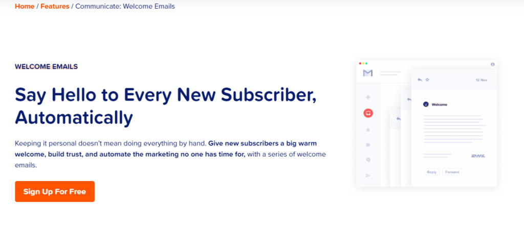 MailPoet Welcome Emails