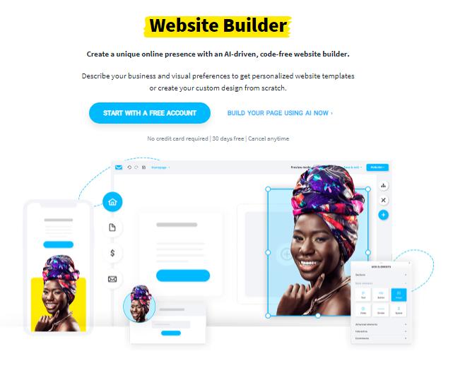 Website Builder GetResponse