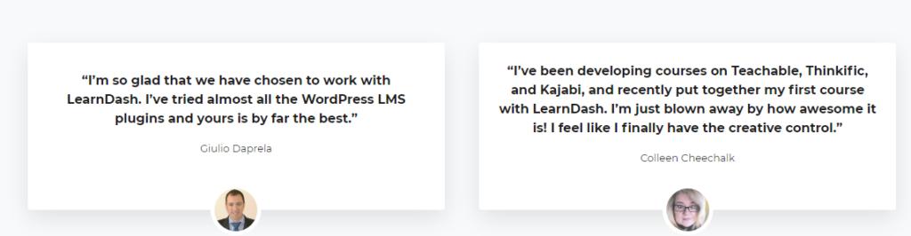 Customer Review - LearnDash