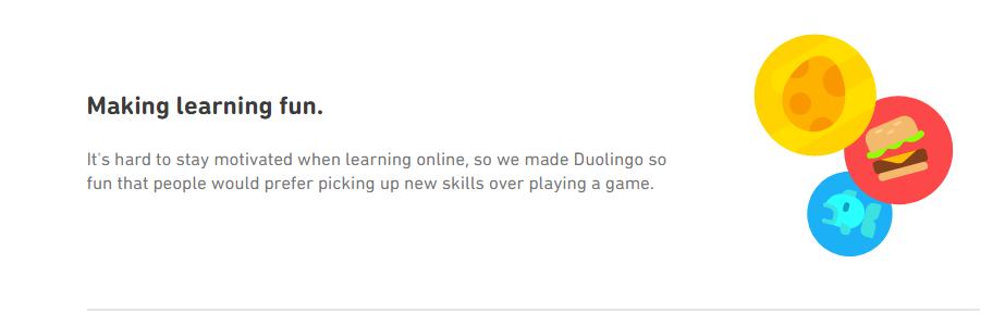 Duolingo -Gamification learning