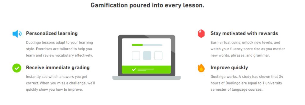 Duolingo learning methodology