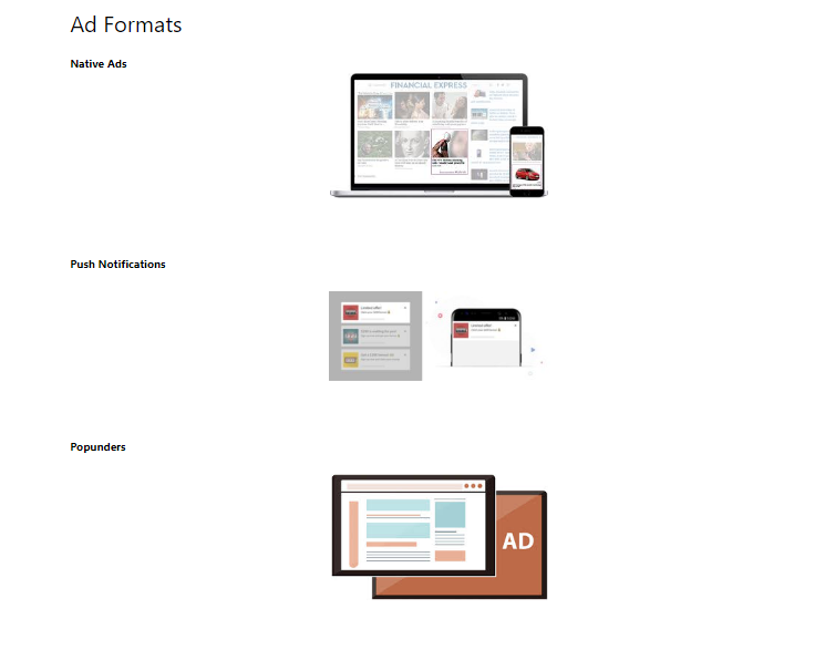 KriagContent Ad Formats