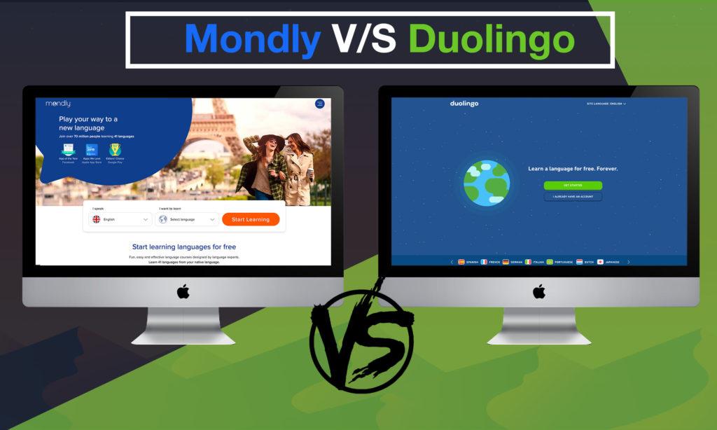 Mondly vs Duolingo