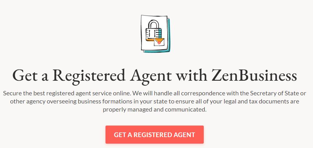 Registered Agent Service - ZenBusiness
