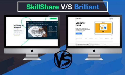 SkillShare vs Brilliant
