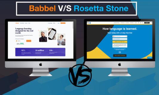 Babbel Vs Rosetta