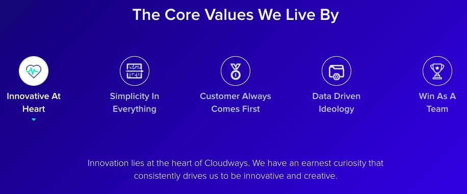 CloudWays Core Values