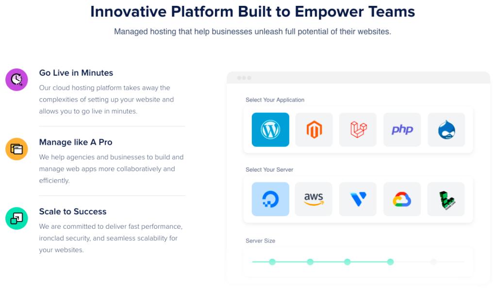 CloudWays Innovative Platform