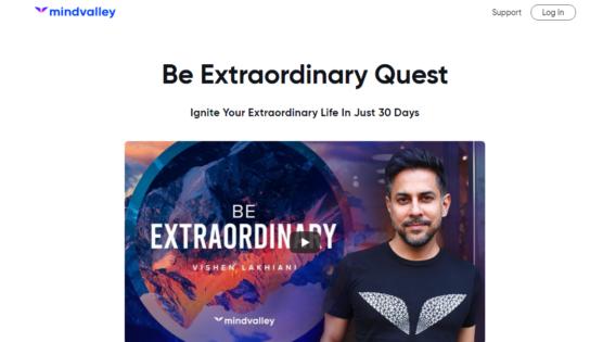 Mindvalley Be Extraordinary