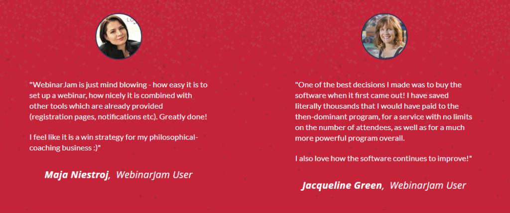 WebinarJam Customer Reviews