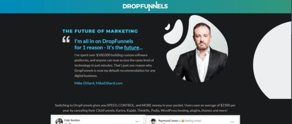 DropFunnels Review