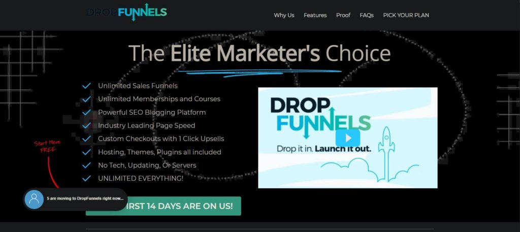 DropFunnels Elite Marketers