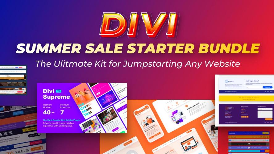 Divi Summer Sale offer