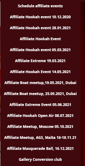 Conversion Club Events